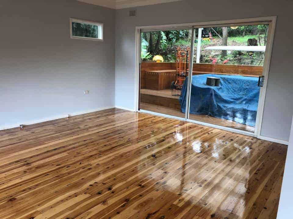 deck sanding and polishing Sydney area